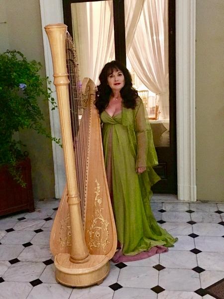 Internationally Acclaimed Harpist -Fionnuala Monks €350