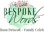 Bespoke Words - Alison Driscoll €440
